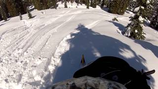 Snowmobiling Iron Mountain, California Amador County Sierra Nevadas - Part 3