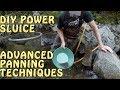 American Gold Prospectors Ep09 Se01 DIY Highbanker / Power Sluice