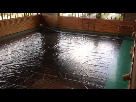 aiRRoller, gym floor cover, the lightest sef rolling system for gym, InfoVideo