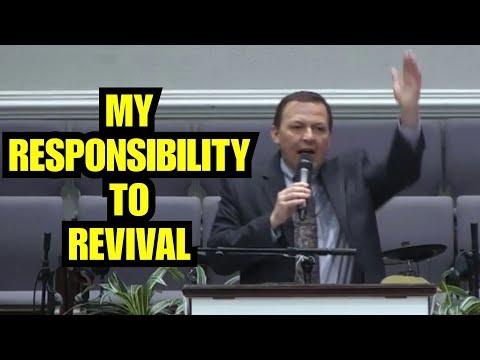 """My Responsibility To Revival"" – Jimmy Toney"