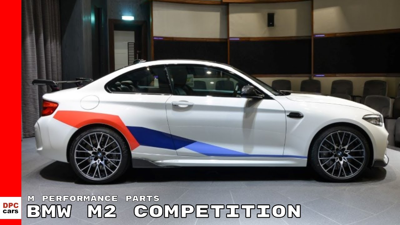 2019 bmw m2 competition with m performance parts youtube. Black Bedroom Furniture Sets. Home Design Ideas