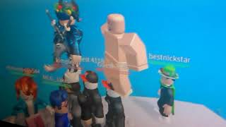 Roblox:naked challenge (natured disaster survival)