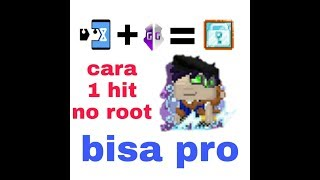 Tutorial 1hit di android no root Growtopia