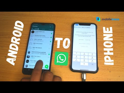 How To Transfer WhatsApp Messages Between Android & iPhone(Hindi). Easiest Way To Do It Dr.fone What.