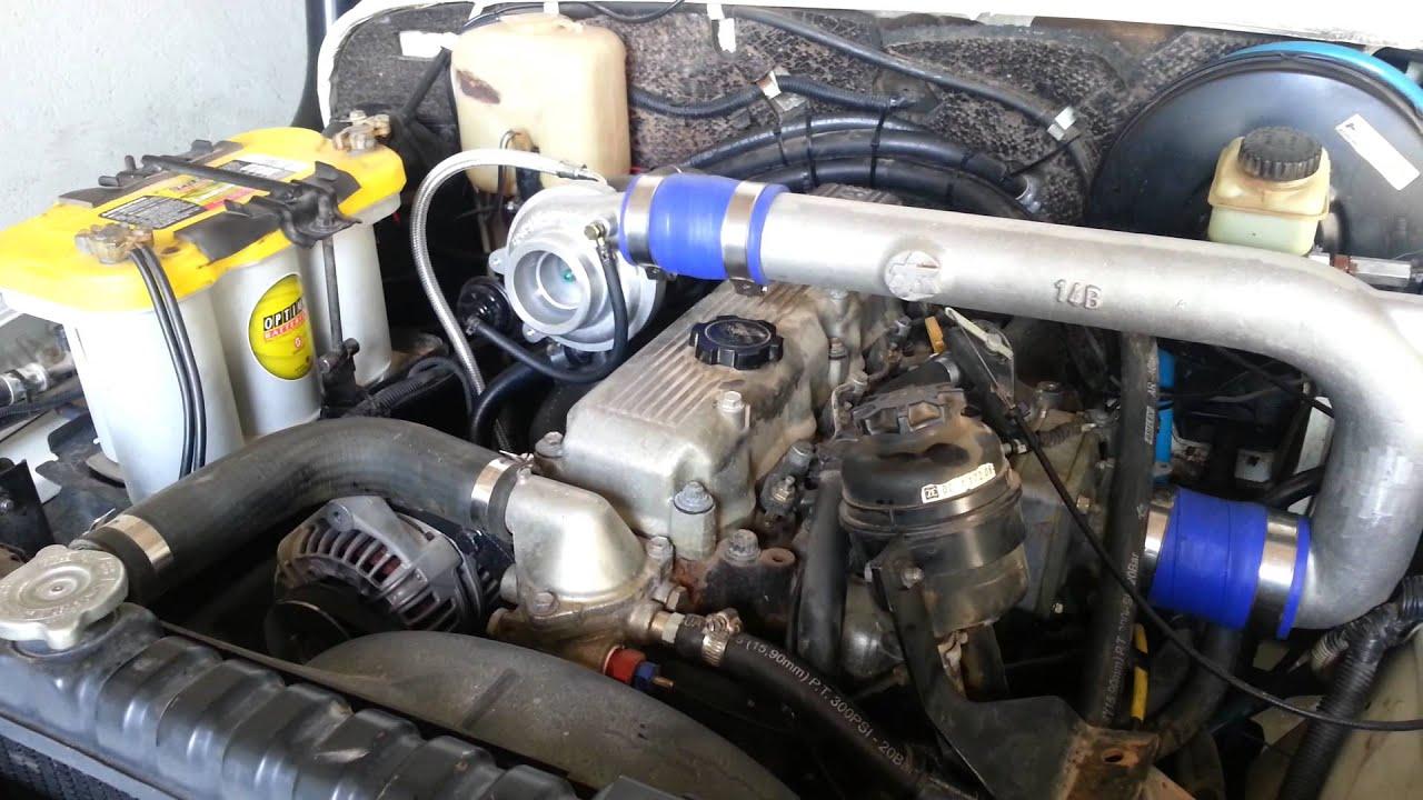 installation de manifold turbo rougeoyante