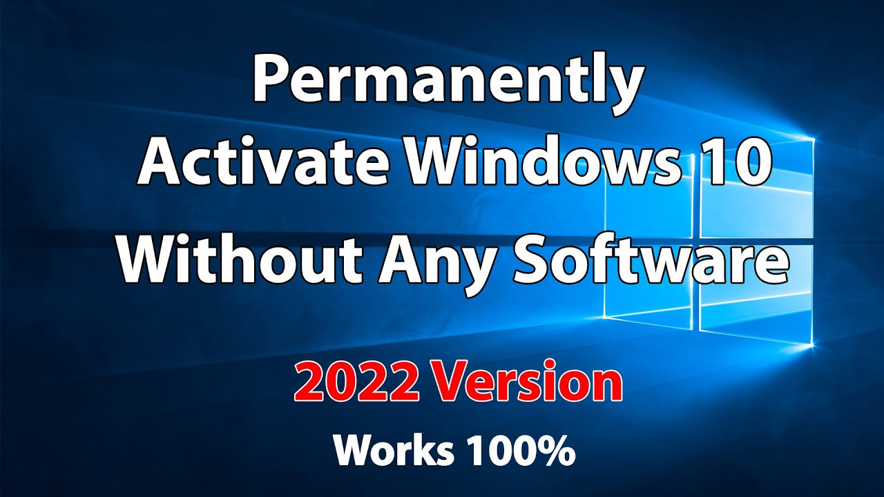 2019! Windows 10 all versions activation for free without softwar  Simple  and permanent