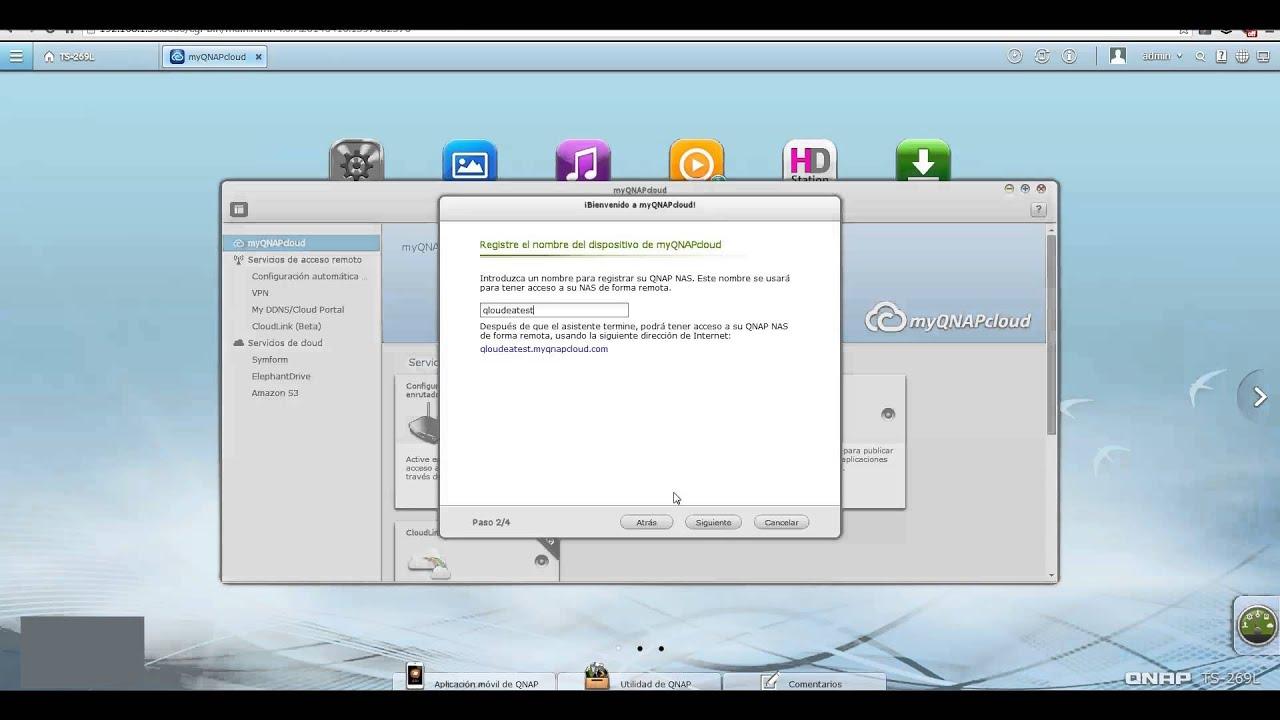 Cómo configurar myQNAPcloud en QNAP