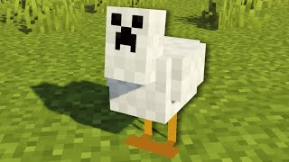 I made every mob act like creepers in Minecraft...