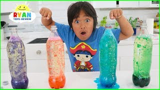 How to Make Lava Lamp at Home! Homemade Easy Science Experim...
