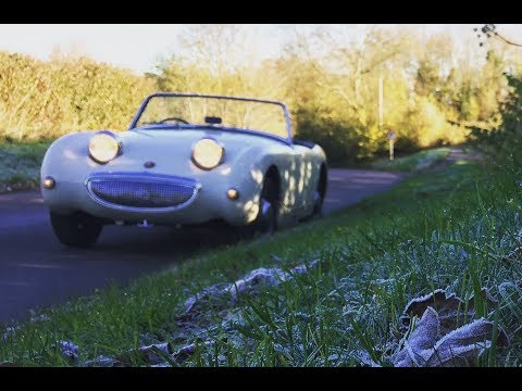 Fred the Frog !! Update on my Austin Healey Sprite