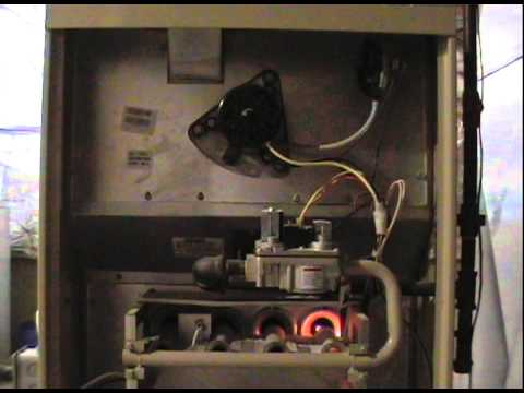 110 Fan Wiring Diagram Lennox Elite Series Furnace Youtube