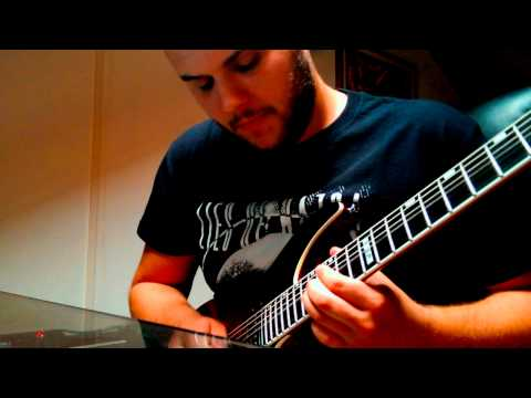 All That Remains - Stand Up (Guitar Solo Cover)