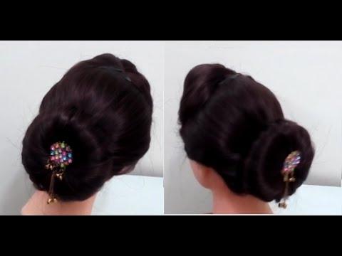 Easy Bun Hairstyles For Medium Or Long Hair
