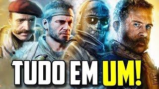 TODOS OS CALL OF DUTY EM 1 SÓ VÍDEO!