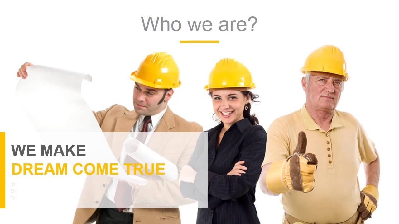 Construction powerpoint presentation template youtube alramifo Images