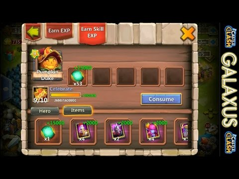Castle Clash-(40k Shards!!!)9/10 Celebrate Pumpkin Duke Quest To Reach The Speed Cap In 2 Stacks