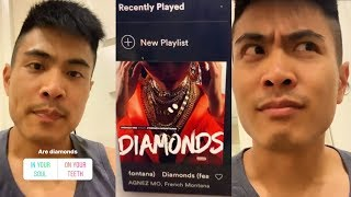 Bing Chen reacts to Diamonds by AGNEZ MO ft. French Montana