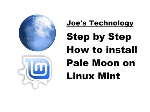 Step by Step: Installing the Pale Moon Browser on Linux Mint