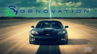 Genovation GXE All Electric Corvette Breaks Speed Record