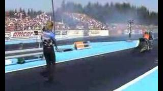 Supertwin Top fuel: Charley Karling Gardemoen 2004