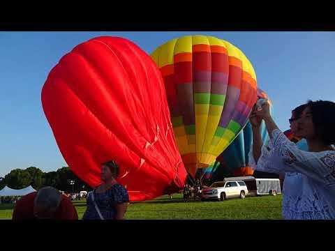 The #ChesapeakeBay #Balloon&Wine Festival 2018 - #timelapse 2