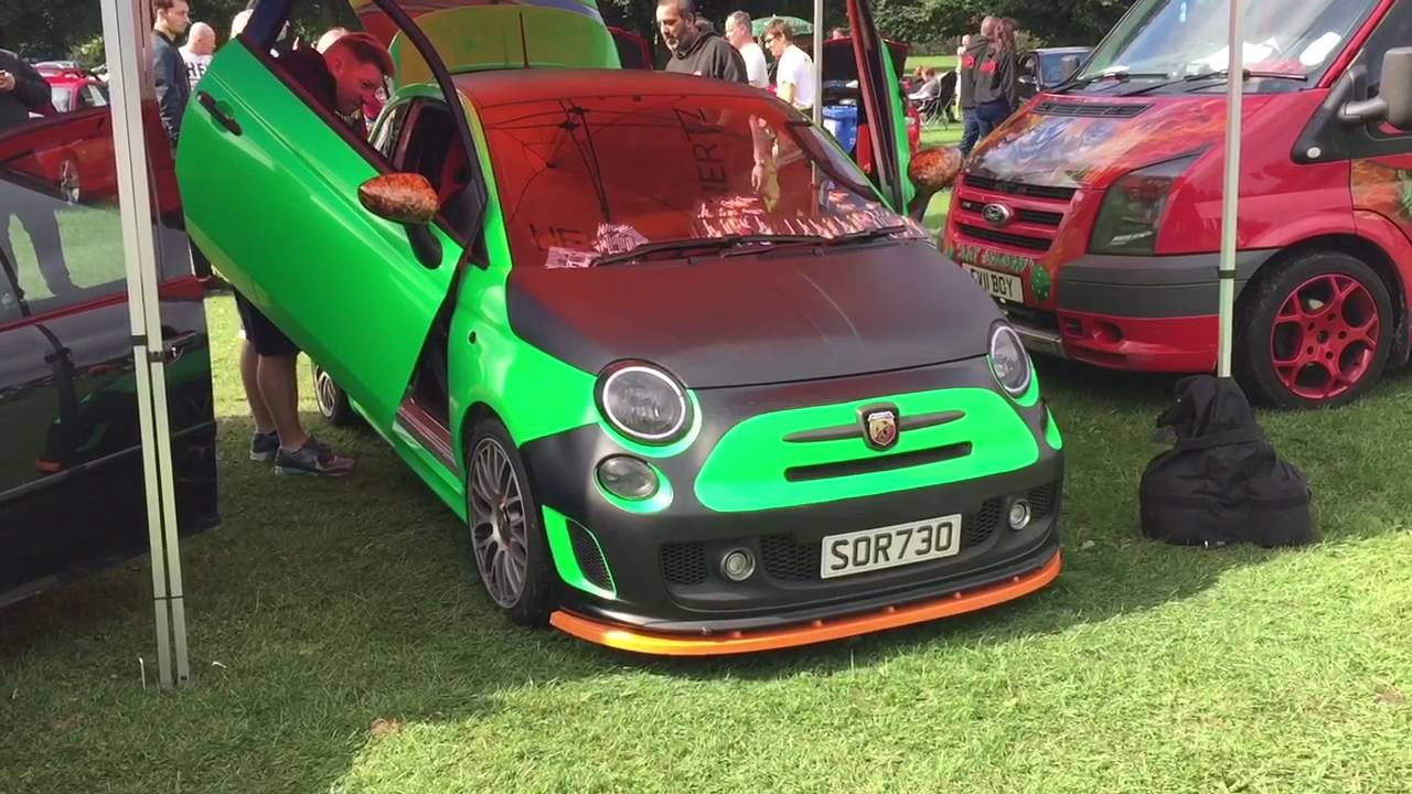Ime Sound System on A Fiat 500 Abarth. - YouTube