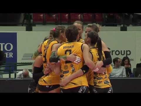 Pallavolo A1 femminile - Monza-Legnano 3-1: highlights