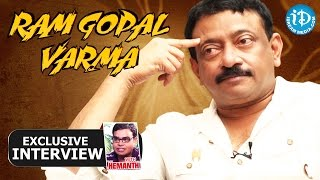 Ram Gopal Varma Exclusive Interview || Talking Movies with iDream #66