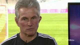 Jupp Heynckes vor dem Pokal-Hit