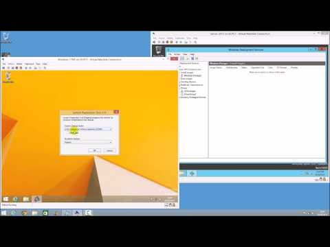 Sysprep and Capture a Windows 8.1 Image for WDS Windows Deployment Services