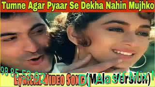 Tumne Agar pyar se dekha nahi mujh ko Dj AASIF Dholki mixing