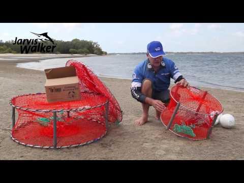 How to set-up crab pots to catch mud crabs & sand crabs