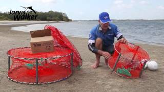 How to set-up crab pots to catch mud crabs & sand crabs