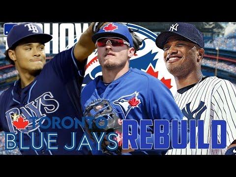 REBUILDING THE TORONTO BLUE JAYS! | MLB THE SHOW 17 FRANCHISE