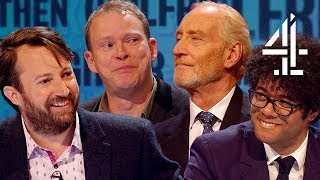 Robert Webb TEARS UP After Offending Charles Dance's Age?! | Was It Something I Said