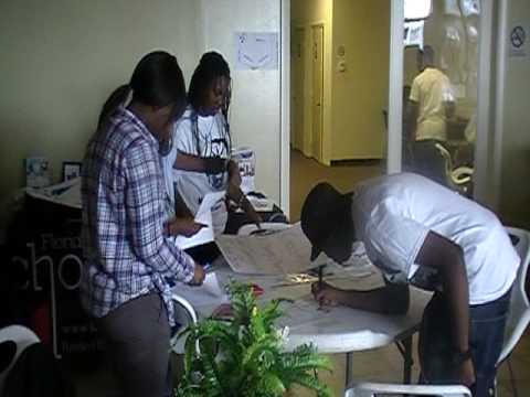Miami Dade NAACP Youth Council 2010 Census Walk: Part 1