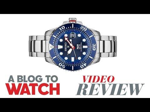 Seiko Prospex Solar Diver PADI SNE435 Watch Review | aBlogtoWatch