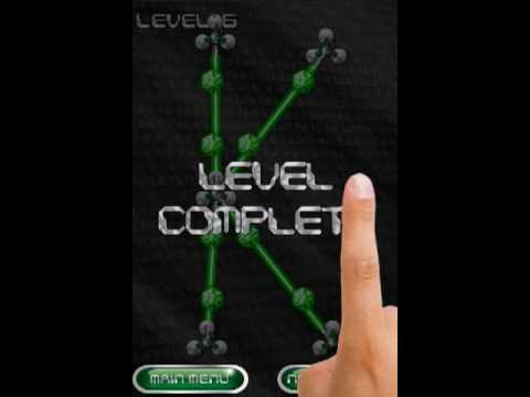 Lasers (formerly Nodes) - IPhone Game From Brisk Mobile Inc.