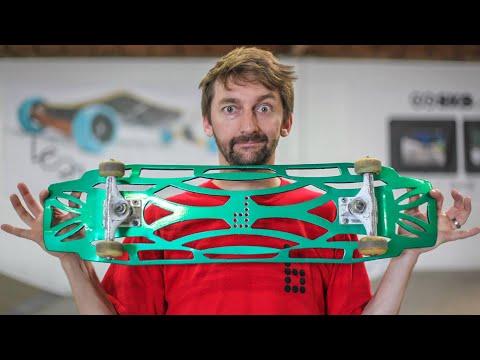 Can we Break the Ultraflex Skateboard!?! | You Make it We Skate it Ep. 232