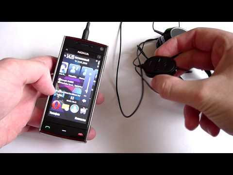 Nokia X6 & Nokia WH-701