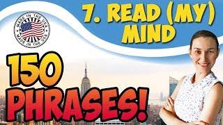 #7 Read (one's) mind - Читать мысли 🇺🇸 150 английских идиом