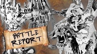 Battle Report (Complete) - Ogre Kingdoms vs Warrior of Chaos (2500pts) - Warhammer Fantasy