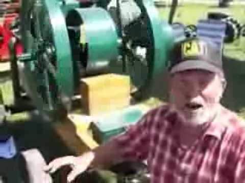1917 Fuel Vapour Engine Interview with the Owner