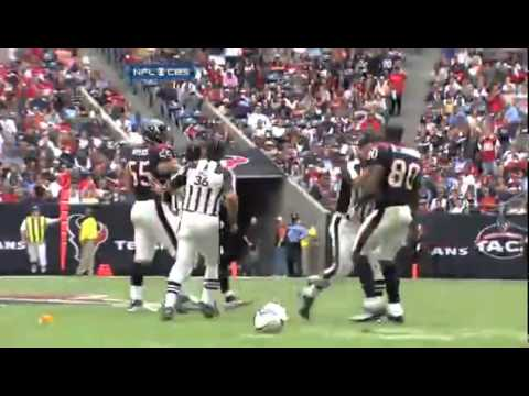 Andre Johnson vs. Cortland Finnegan Fight  Brawl Titans vs. Texans 2010