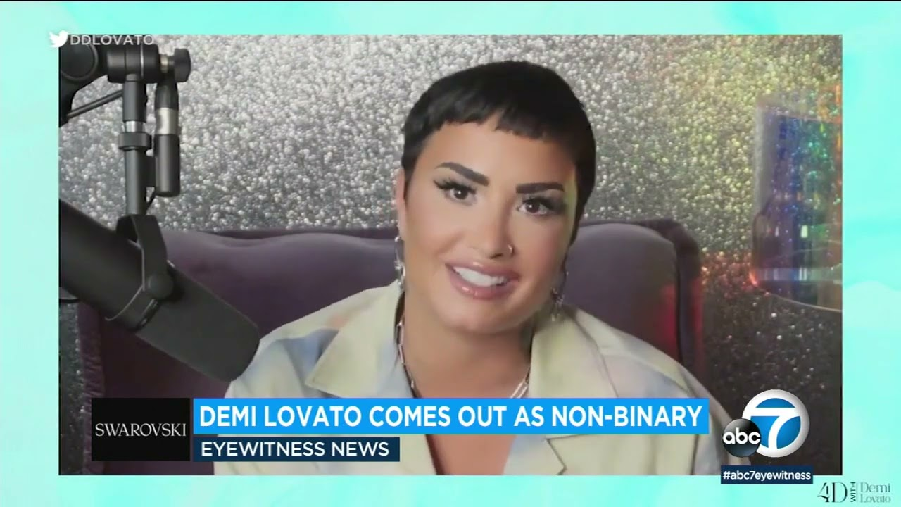 WATCH: 'I Am Proud.' Demi Lovato Comes Out As Nonbinary
