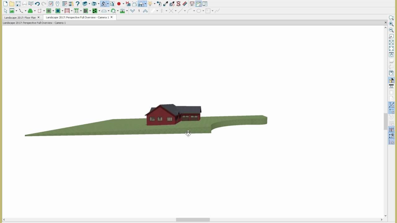Home Designer 2017 - Landscape Design - YouTube