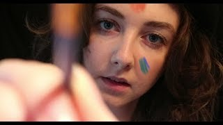 Human Canvas (ASMR) (Brush Sounds, Whispering, Personal Attent…