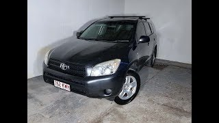 (SOLD) 4×4 SUV Toyota RAV4 Wagon 2008 Review