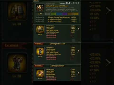 Clash Of Kings - Archangel Set X5 Crazy Trial