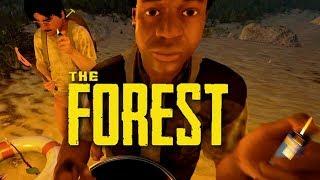 ПЛОТ В КРАТЕРЕ ВУЛКАНА НА 4 ЧЕЛОВЕКА (УГАР) - The Forest